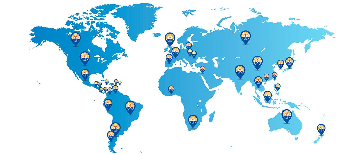 Mapa United Way